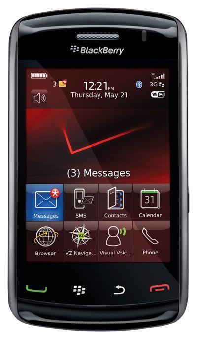 Harga Dan Spesifikasi Blackberry Storm 2 Odin 9550