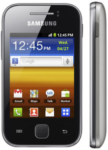 Samsung Galaxy Y S5360--
