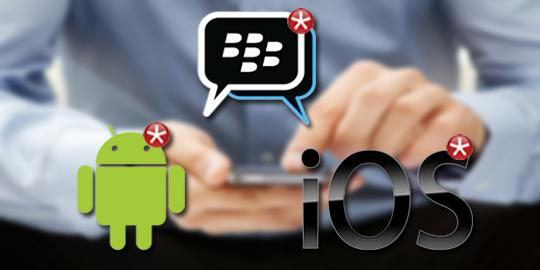 BlackBerry Messenger Hadir di Android dan iPhone-
