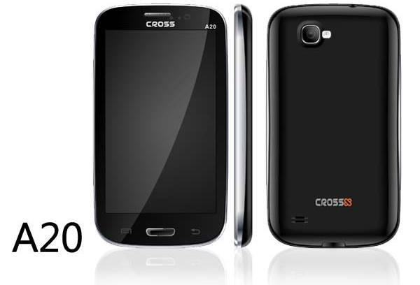 Cross Andromeda A20 Harga Spesifikasi Android Dual SIM