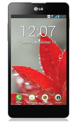 LG Optimus G E975, Android Jelly Bean Layar 4,7 Inci IPS Plus Kamera