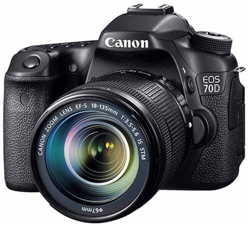 Kamera EOS 70D