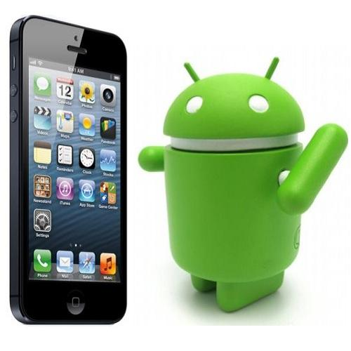 android to iphone 5