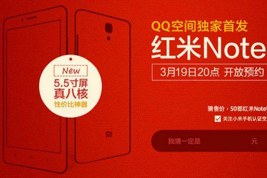 Xiaomi Redmi Note, Phablet Kinerja Mumpuni Harga 2 Jutaan