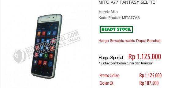 Mito A77 Fantasy Selfie