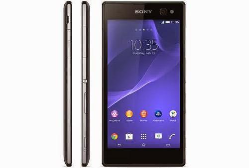 Spesifikasi Sony Xperia C3