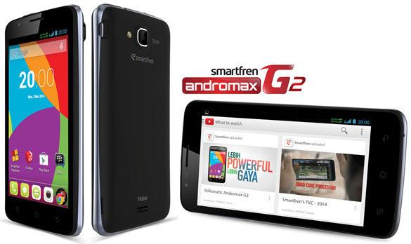 New Smartfren Andromax G2