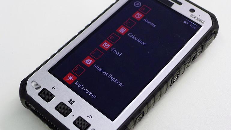 Panasonic Toughpad FZ E1