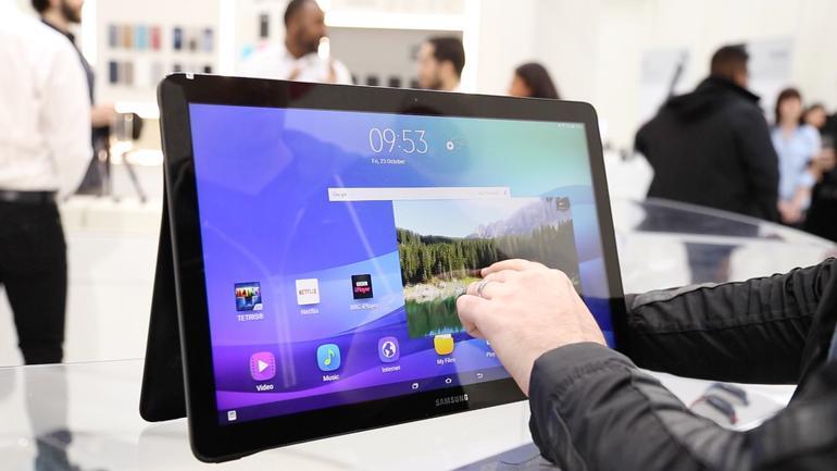Harga Samsung Galaxy View, Tablet Raksasa Layar 18.4 Inci