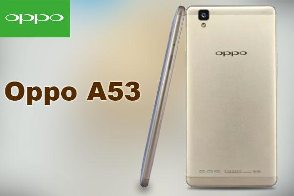 Spesifikasi Oppo A53