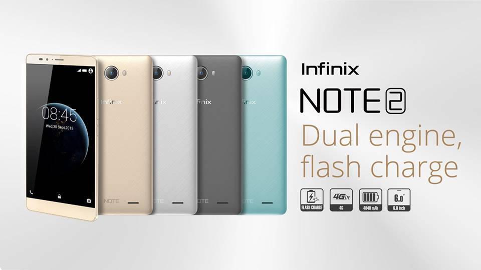 Spesifikasi Infinix Note 2