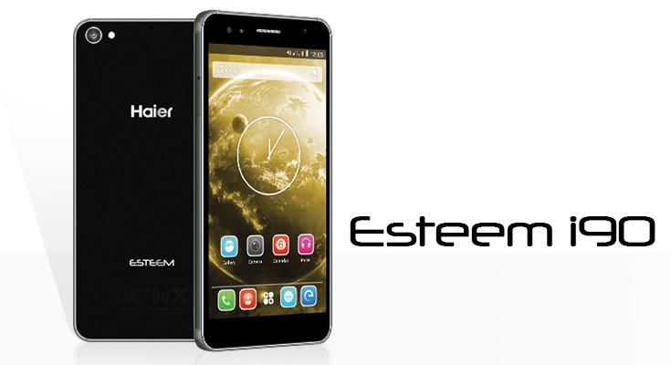 Spesifikasi Haier Esteem i90